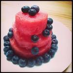 Guilt-free summer cake